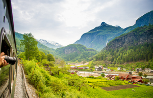 Medium flam railway photo by sverre hj c3 b8rnevik