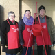 NHCO volunteers ring bells for the Salvation Army
