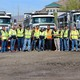 These are the faces of the new Cottonwood Heights Public Works team. They seem to get along well. (Cassie Goff/City Journals)