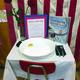 """""""America's White Table"""" exhibits inside Upland Elementary. (Upland Elementary)"""