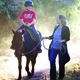 Horses are utilized at the Animal-Assisted Healing Center to help their clients. (Rod Hansen)