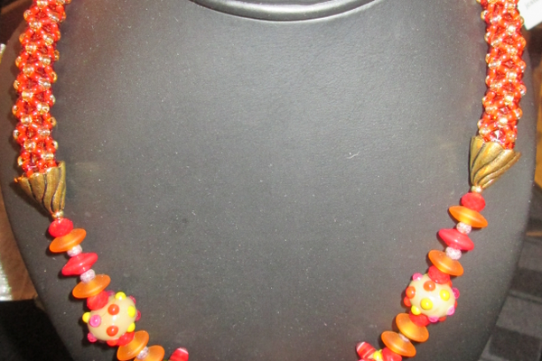 A necklace by Jay Stutman Designs.