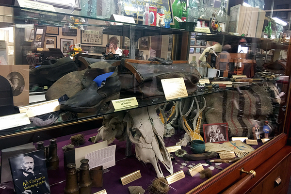 Historical items on display at the Sandy Museum were mostly donated by residents. (Kelly Cannon/City Journals)