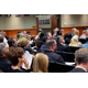 Residents most opposed to the Merit Medical expansion were concerned about changing the zoning from low-density residential to commercial/office use. (Briana Kelley/City Journals)