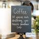 Décor at Sugar House Coffee