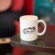 Latte at Jitterbug Coffee Hop