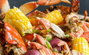Medium lf craft crab