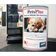 PetsPlus bins allow people to donate dry bags of cat or dog food for animals in need. (Huy Tran/City Journals)