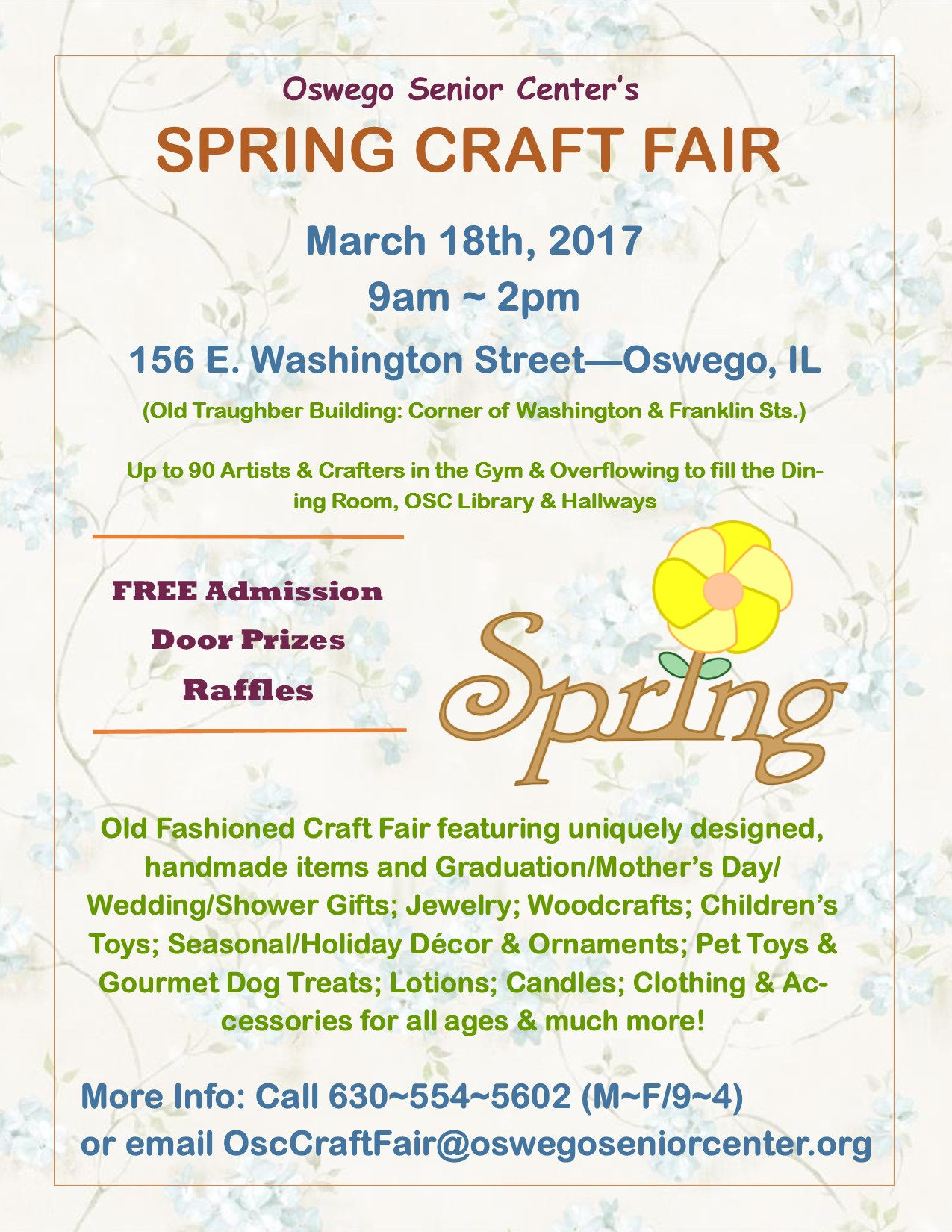 Spring 20craft 20fair 20flyer 203 18 17