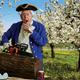 Ronald, Sherwood Oaks resident, as George Washington