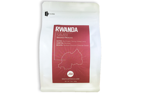 Rwanda Simbi Coffee by Mast Coffee Co., $16 (12 oz.) at Shady Coffee & Tea, 325 Douglas Boulevard, Roseville. 916-742-4117, shadycoffeeandtea.com