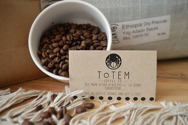 Totem Costa Rica Coffee, $12  (12 oz.) at Totem Coffee, 312 Main Street, Suite 104, Placerville. 530-903-3280, totemcoffeeroasters.com