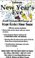 New Years Eve at Roger Rockas - start Dec 31 2016 0600PM
