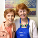 Margie Miller and Shirley Brown