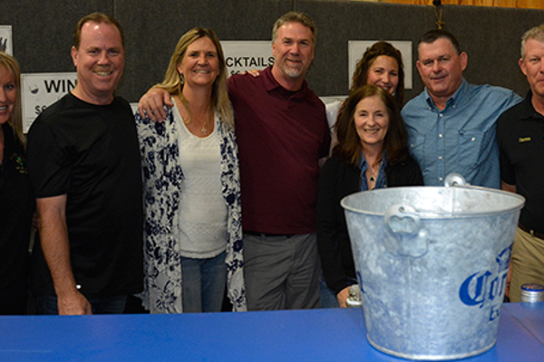 Deanne Repetto, Greg Witherow, Julie and Dan Dewater, Kathy Witherow, Tiffany Carter, Tom Conlin and Dennis Gray