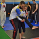 """Celio """"Ty"""" Silva demonstrates an escape move with daughter Kalina"""