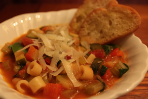Cookin With Carols Minestrone Soup - Jan 17 2017 0349PM