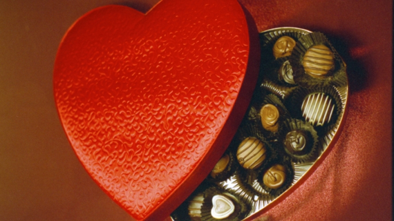 Hungry history celebrating valentines day with a box of chocolates istock 000000071357medium e