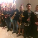 Orchestra students prepared to play selections during Viking Night. (Rubina Halwani/City Journals)
