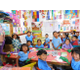 Kids at the Mayan preschool learn Spanish, math and writing. (Diane Leaver)