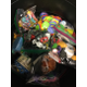 The bin at Highland Park overflows with toys in ziplock bags for the children in Guatemala. (Staci Rodriguez/Highland Park)