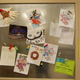 Wall of artwork done by the kids. (Keyra Kristoffersen/City Journals)