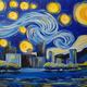Paint Monkey 'Yinzer Starry Night'