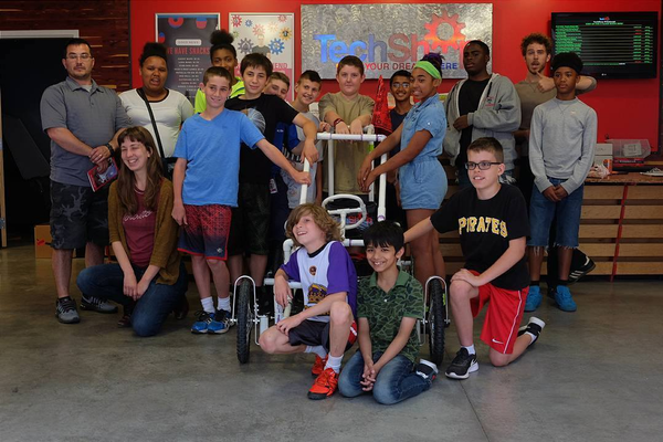 A TechShop afterschool program