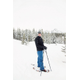 A Sugar House resident, Patrick Wester, snowshoes with poles/ Quirky Shutter Photography
