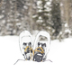 Snowshoe rentals in the main building of the Solitude Nordic Center/ Quirky Shutter Photography