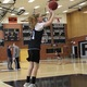 Senior Alex Debow puts up a shot during practice on Jan. 16. Debow was averaging eight points per game through their first 11 games. (Travis Barton/City Journals)