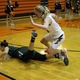Senior Madison Olsen fights for a loose ball against Hillcrest. (Travis Barton/City Journals)