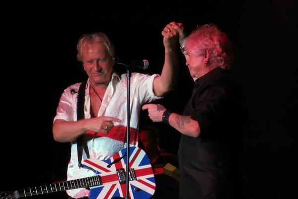 Graham Russell and Russell Hitchcock of Air Supply (Graham Russell)