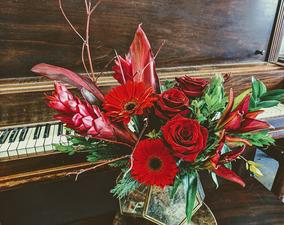 Medium valentine s arrangement