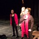 """Students of Granger High School's advanced theatre rehearse their new play, """"Shuddersome: Tales of Poe."""" The play will run from Feb. 2-4, 6 at 7 p.m. at Granger High School. (Travis Barton/City Journals)"""