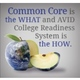 """AVID Program claims to be the """"most appropriate partner"""" to Common Core concepts. (avid.org)"""