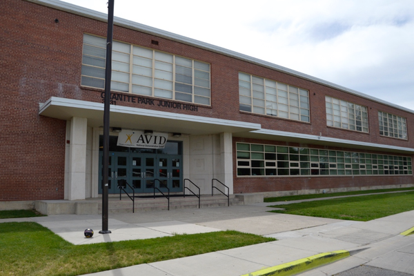 Granite Park Junior High National AVID Demonstration School. (Granite School District)