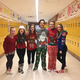 Student government performs singing telegrams to raise money for the school's fundraiser. (Lisa Wells/ Bennion Junior High)