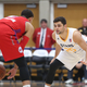 As many as 40 percent of all NBA stars have D League experience. Jazz guard Raul Neto got some extra court time for the Stars on Jan. 11. (Paul Asay/ Salt Lake City Stars)