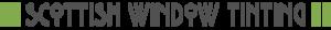 Medium scottish window tinting logo