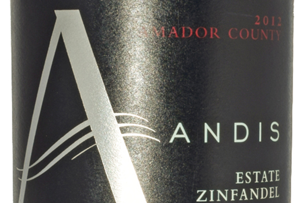 Andis 2012 Estate Zinfandel, $24.99 at Andis Wines, 11000 Shenandoah Road, Plymouth. 209-245-6177, andiswines.com Zinfandel vines are completely dry-farmed; cover crops are planted to help the soil with water retention and erosion; material other than grapes is used for fertilizer in the vineyards; bottles, boxes and corks are recycled and most are taken to local artists for projects