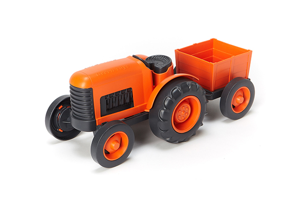 Green Toys Tractor, $16.99 at T.W. Bonkers Toys and Wonder, 266 Main Street, Placerville. 530-642-2671, facebook.com/bonkerstoystore Made from 100-percent recycled plastic milk jugs; packaged with recycled and recyclable materials and printed with soy inks