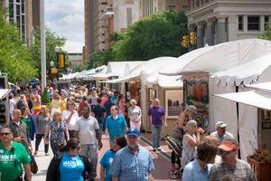 MAIN ST Fort Worth Arts Festival  - start Apr 20 2017 1000AM