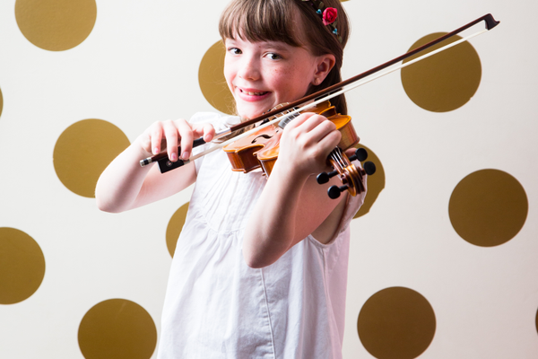 Lizzie Noel, a fourth-grader at Spring Lane Elementary, is an award-winning composer. (Sarah Noel)