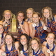 The Bengal water polo girls team won the state championship in 2016, the first girls water polo state championship in Brighton High School history. (Lyse Durrant/Bengal Water Polo)