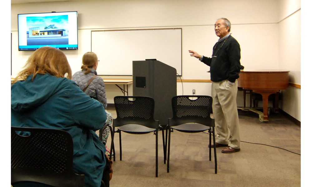 Sandy Library hosts presentation discussing new topaz museum
