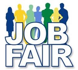 Medium job fair color people