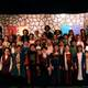 The cast of students at Dilworth after one of their performances. (Linette Sheffield/Dilworth teacher).