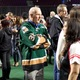 West Valley City Mayor Ron Bigelow attended the sports themed event wearing a Utah Grizzlies jersey. (Travis Barton/City Journals)