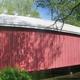 Hassenplug Covered Bridge, Mifflinburg, the oldest U.S. covered bridge still standing (c. 1825).